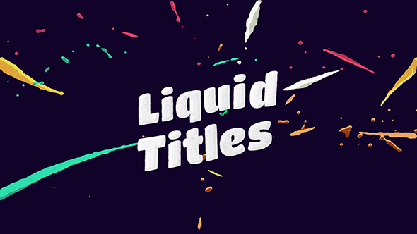 Liquid Animation Titles