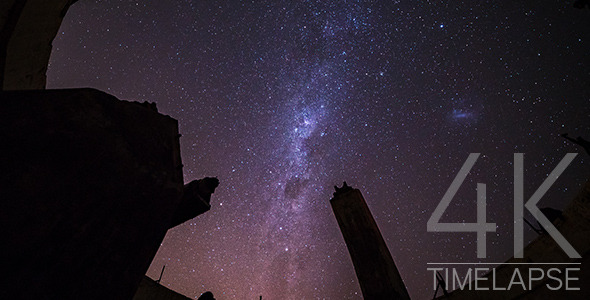 Milky Way from Ruined Observatory