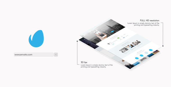 Minimal Website Presentation 2