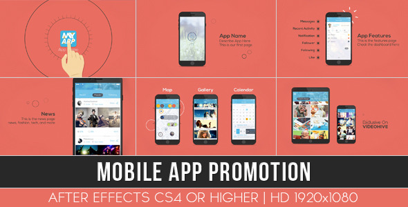 58 after effects mobile app presentation templates weelii