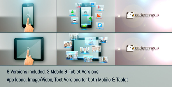 Mobile Tablet Apps Promo