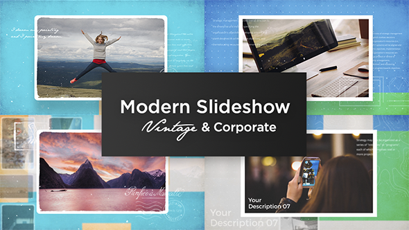 Modern Slideshow Vintage & Corporate