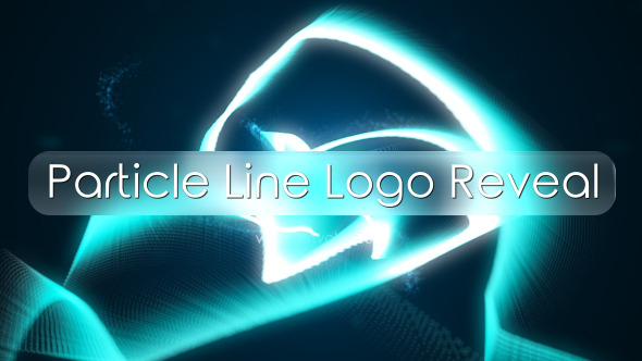 Particle Line Logo Reveal