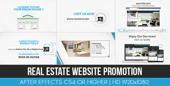 Real Estate Website Promotion