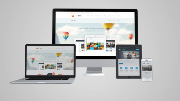 Responsive Website Device Business Presentation