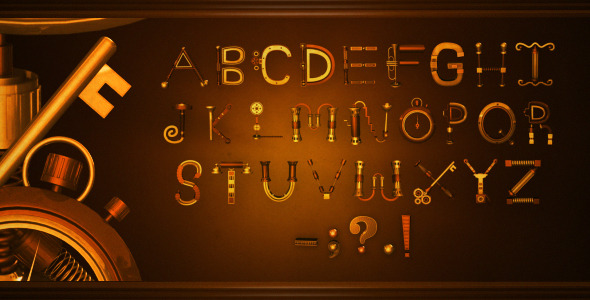 Steampunk Typography