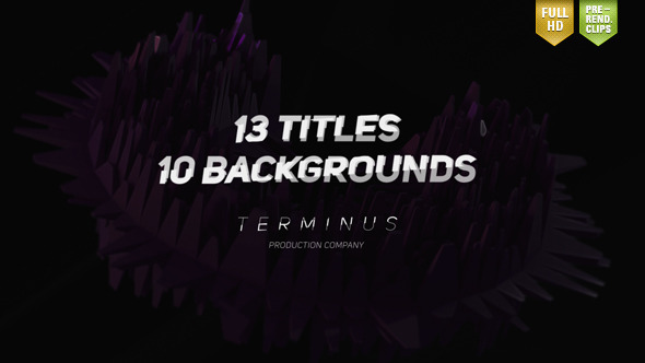 Titles & Backgrounds