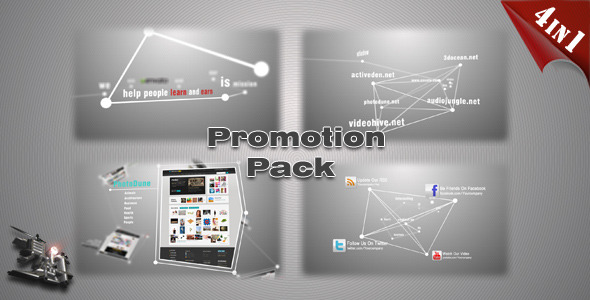 Website Product App Promotion Pack