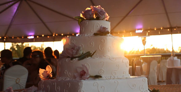 Wedding Cake Sunset
