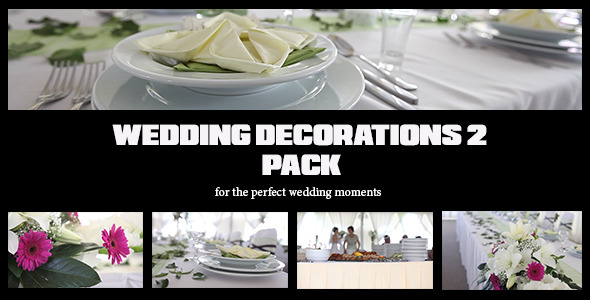 Wedding Decorations Pack 2