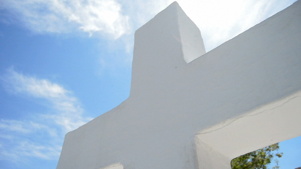 White Cross in Monastery