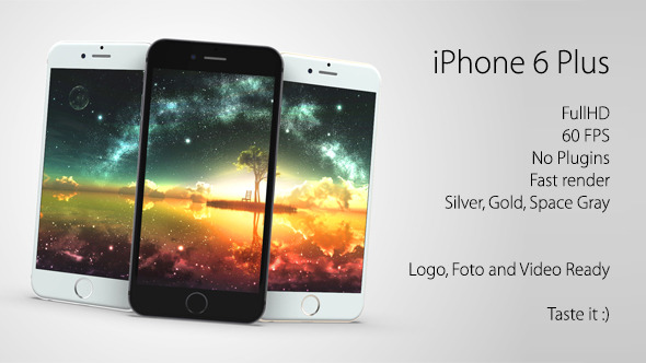 iPhone 6 Plus, Apps, Images, Videos Promotion Kit