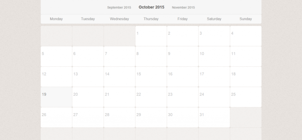 36 BEST CALENDAR PHP SCRIPTS AND CODE | Weelii