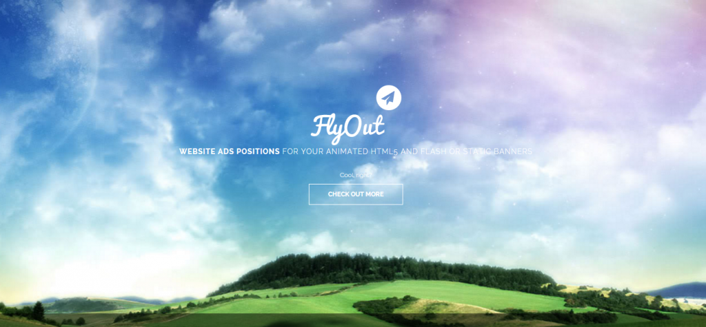 FlyOut Fixed and Sticky Website Banner Positions
