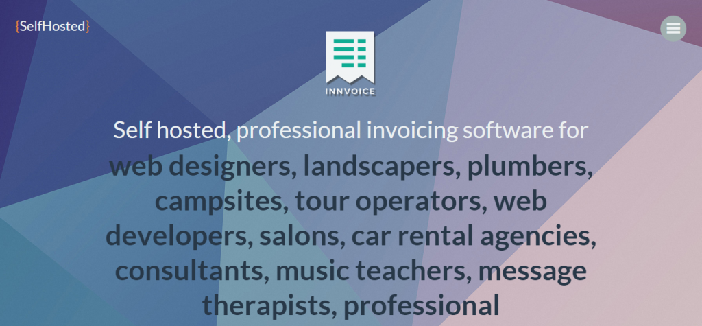 Innvoice Flexible invoicing application with API