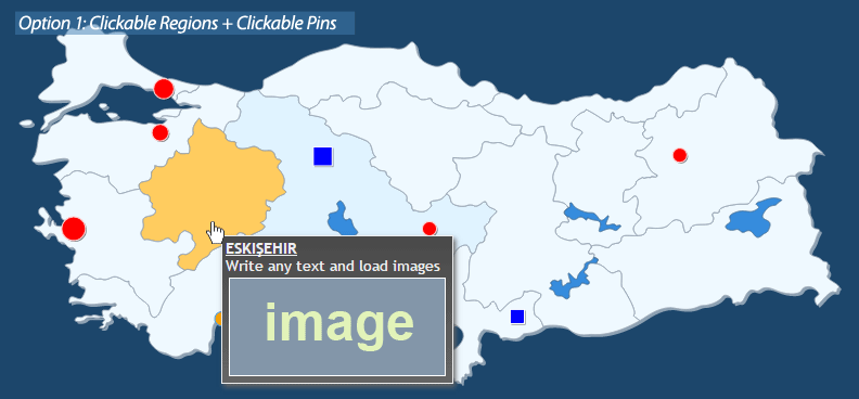 Interactive Map of Turkey