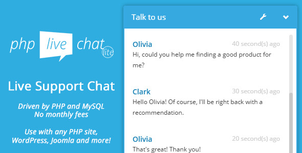 PHP Live Support Chat Lite