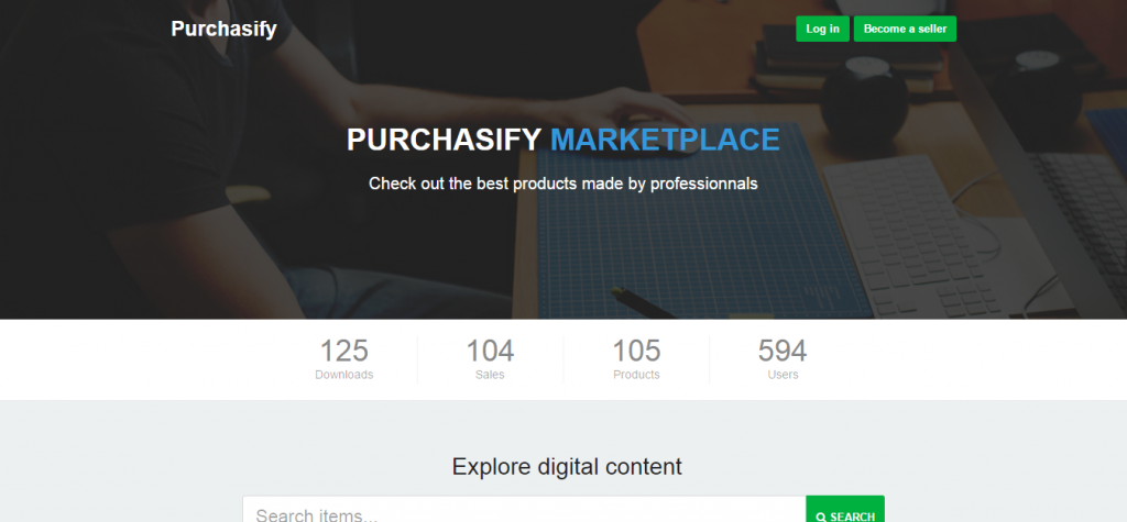 Purchasify Marketplace for Digital Products