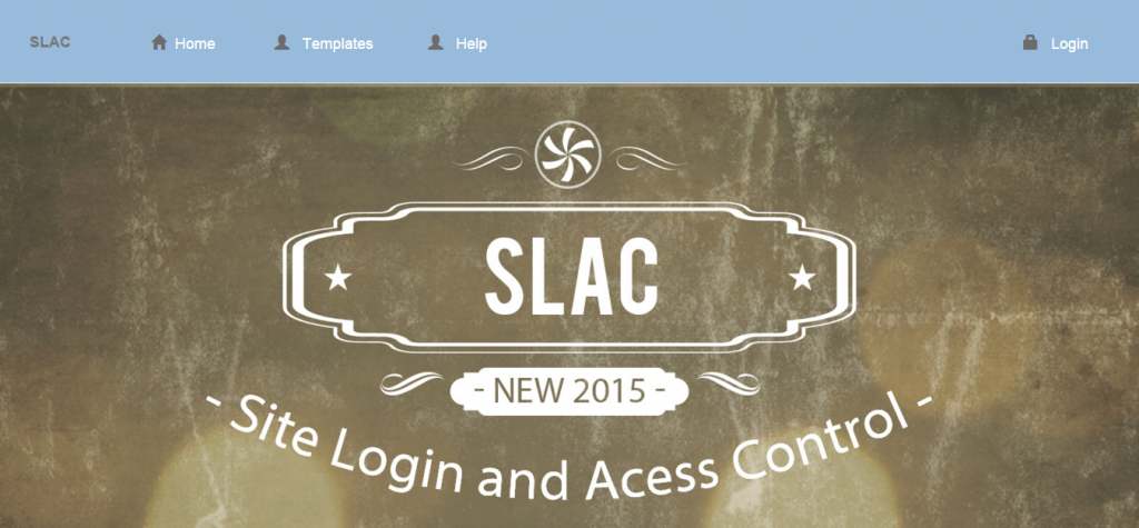SLAC Site Login and Access Control