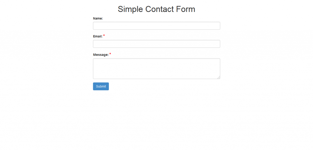 Simple & AJAX PHP Forms