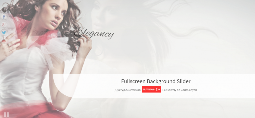 FullScreen Background Slider
