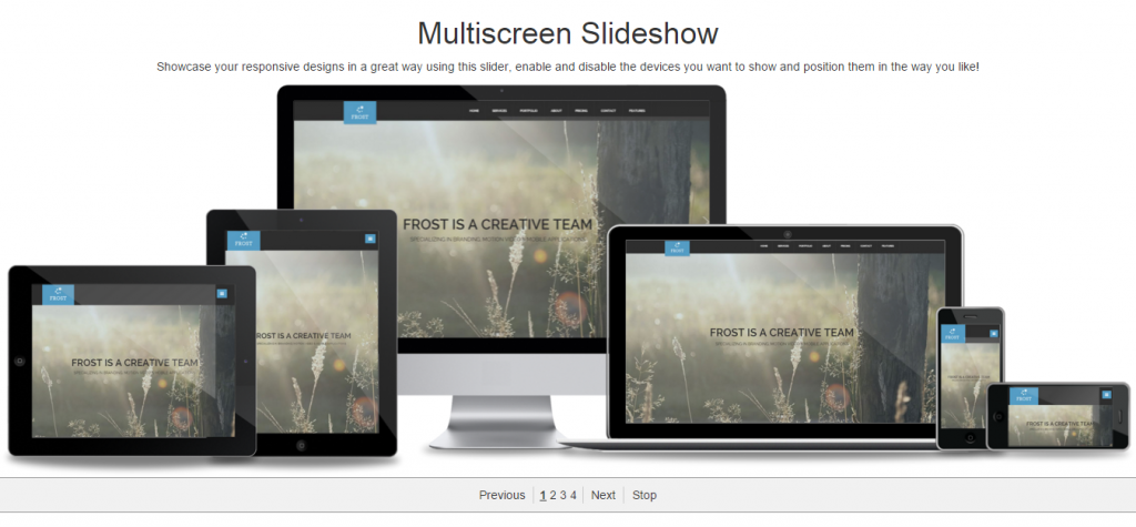 Multiscreen Slideshow