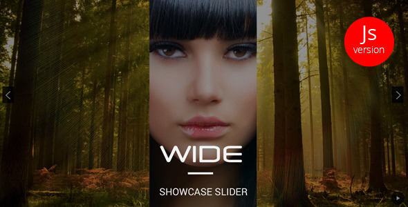 WIDE jQuery Showcase Slider