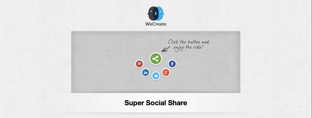 jQuery Super Social Share