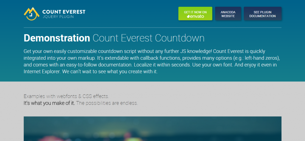 Count Everest Countdown