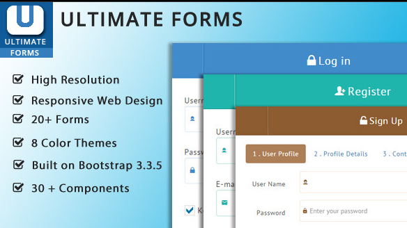 Ultimate Bootstrap Forms